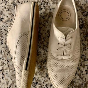Marc by Marc Jacobs White Leather Sneakers